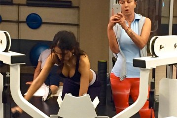"""Eiza González: """"Mi mamá y yo en el gym en Navidad"""", pero """"la salud va primero"""""""