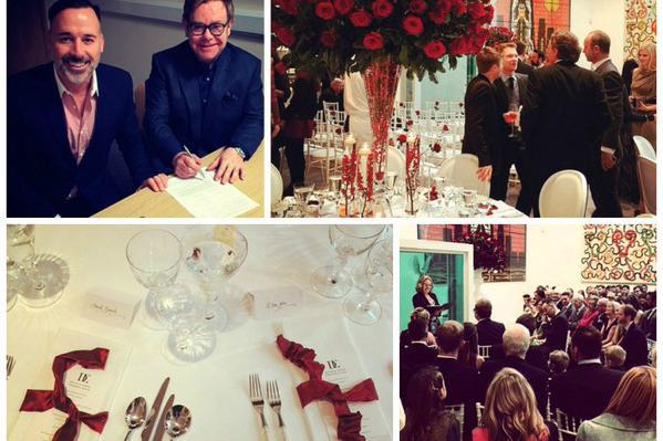 Elton John y David Furnish ya son esposos!