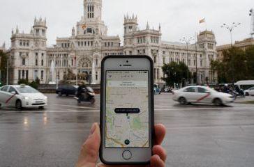 Uber cierra su servicio en España