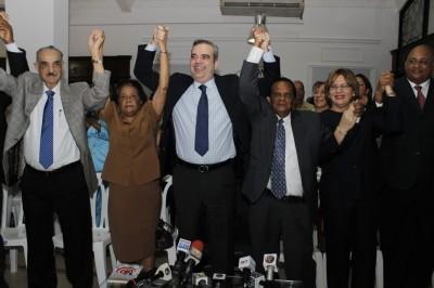 Sánchez Baret y familia respaldan las aspiraciones de Luis Abinader