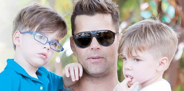 "Ricky Martin:  ""Soy un padre soltero"""