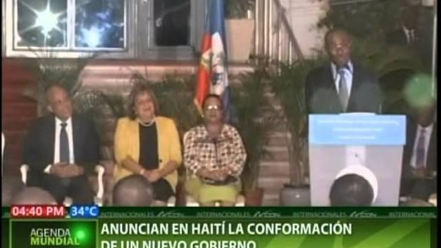 Conforman nuevo Gobierno en Haití