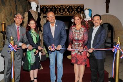 Inauguran exposición permanente en Museo Alcázar de Colón