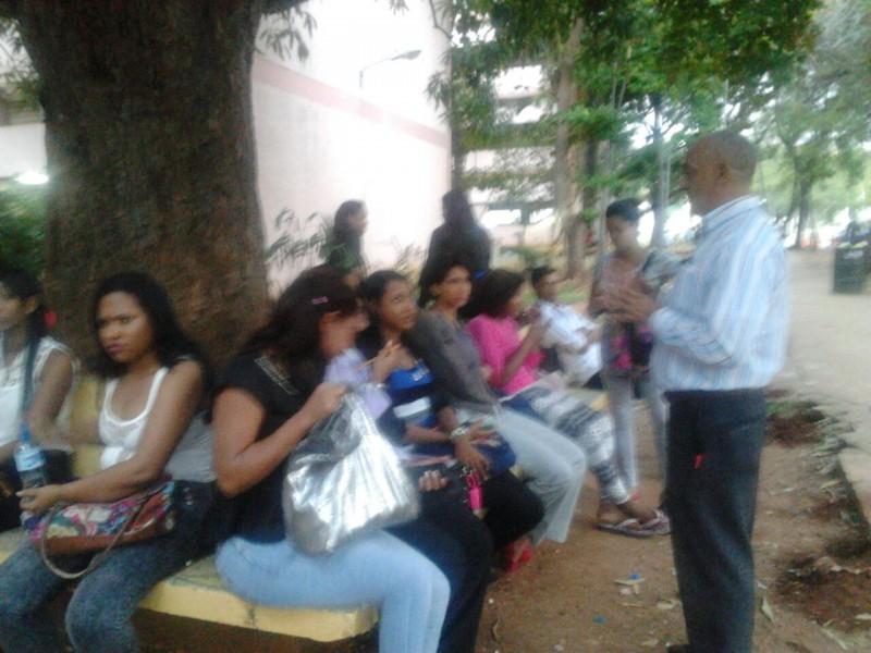 Estudiantes de Humanidades-UASD critican la falta de previsión de las autoridades