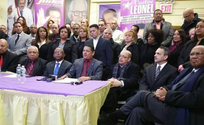 Dirigentes del PLD en NY Califican de inescrupulosos los autores de campaña sucia contra el ex presidente LF