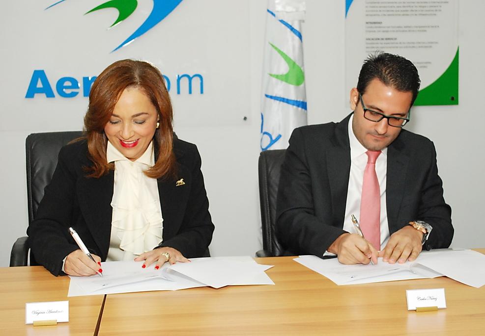 Aerodom y Blandino firman acuerdo para tramitaciones de funerales