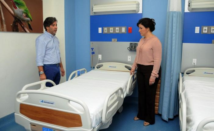 Vicepresidenta garantiza área de pediatría en el Darío Contreras