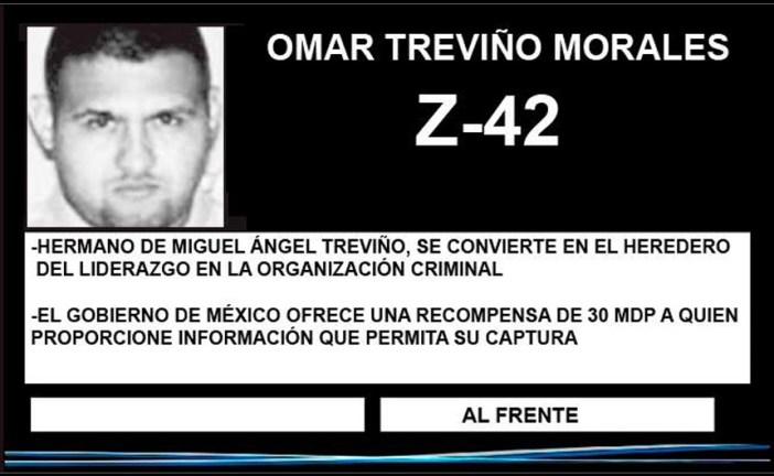 """Arrestan en México a """"Z42"""", líder del Cartel de Los Zetas"""