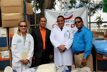 La Fundación Oviedo entrega equipos al Hospital Marcelino Vélez