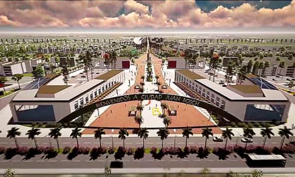 Ciudad Juan Bosch será una zona  moderna y  mejor planificada de RD
