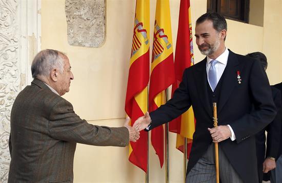 Juan Goytisolo se opone a la injusticia social al recibir el Cervantes