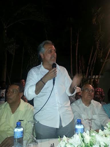 Atallah en busca de la candidatura a senador por el DN