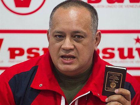 Estados Unidos investiga por narcotráfico a Diosdado Cabello