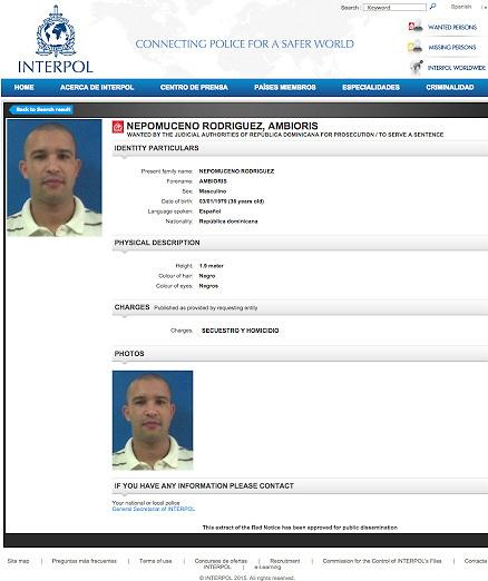 Tribunal español suspende la extradicción del asesino de Nepomuceno Rodríguez
