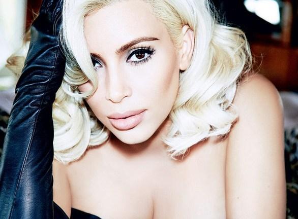Kim Kardashian se convierte en Marilyn Monroe para Vogue