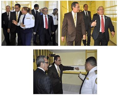 La UASD y el departamento de Solidaridad y Justicia visitan Najayo.