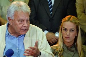 Felipe se va frustrado de Caracas sin  lograr ver a los opositores encarcelados