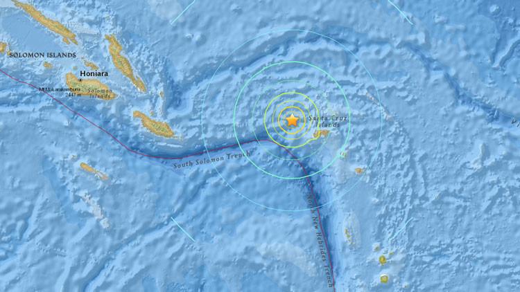 Alerta de tsunami en el Pacífico tras terremoto de 7.5 grados en Islas Salomón