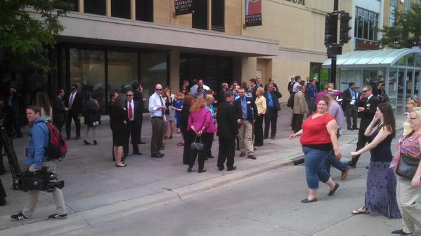 Evacuan por amenaza de boma el Capitolio de Wisconsin