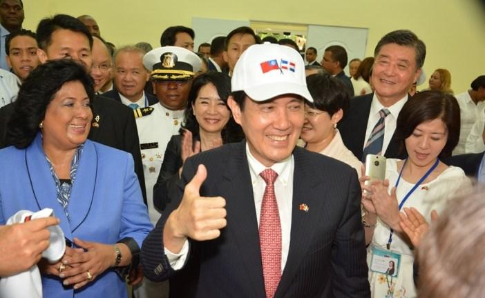 Presidente de la República de China Taiwán, Ma Ying-jeou está en el país