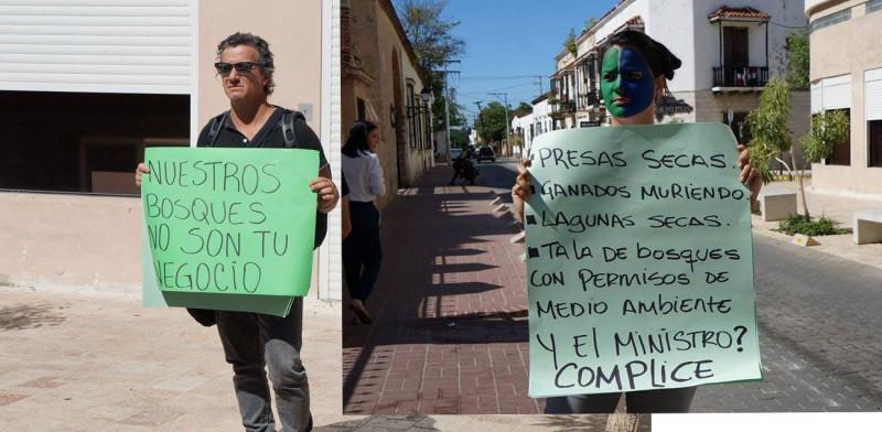 Ciudadanos piden la destitución del Ministro de Medio Ambiente