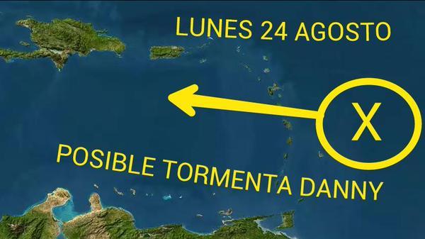 Posible tormenta tropical afectaría RD y Puerto Rico
