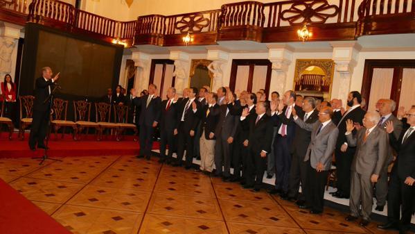 Presidente Medina da a conocer la Iniciativa por la Competitividad y Productividad