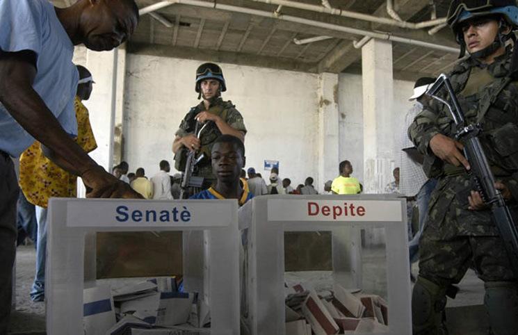 Poca presencia de electores en Haití en las primeras horas de sufragio