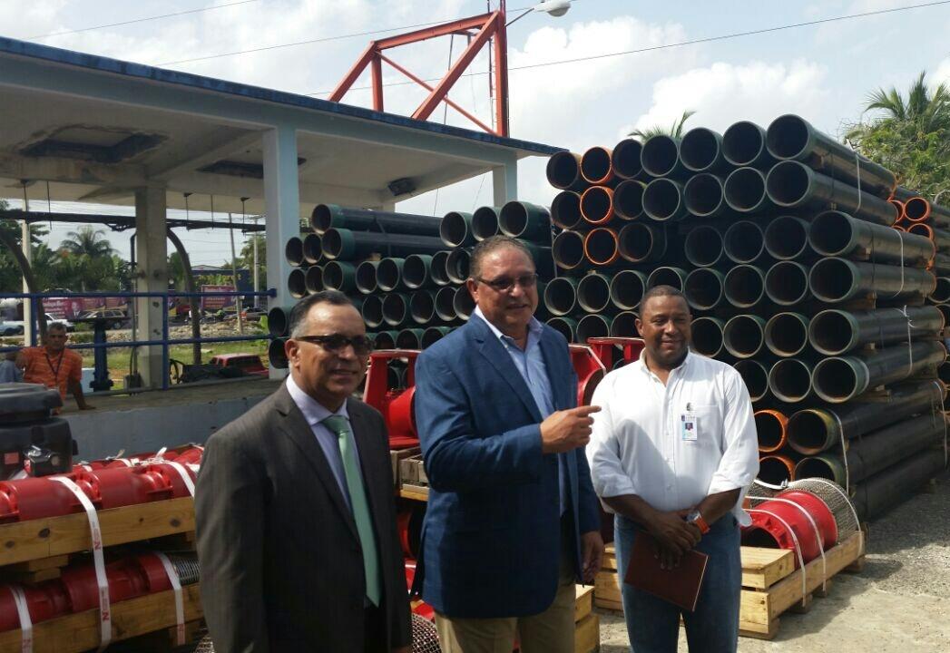CAASD Inicia Instalación de equipos de bombeos en Santo Domingo Este