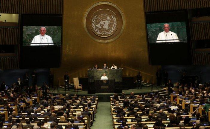 Francisco ataca la corrupción y el narcotráfico en Asamblea ONU