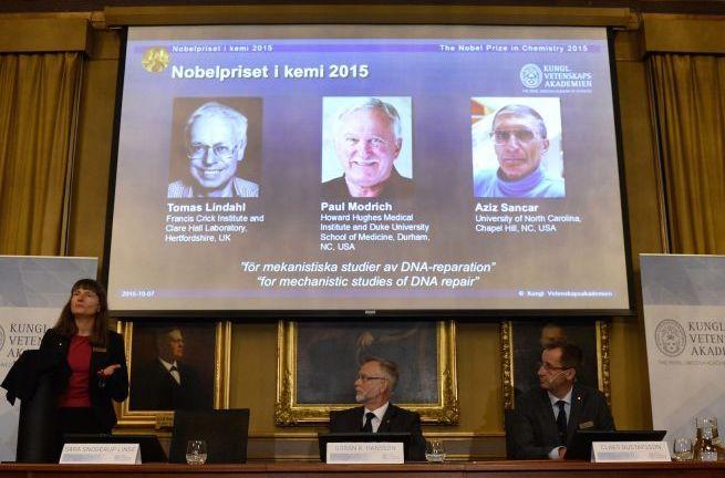 El Nobel de Química galardonó a los luchadores contra el cáncer