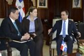 Canciller se reúne con viceministro de Relaciones Internacionales de Sudáfrica