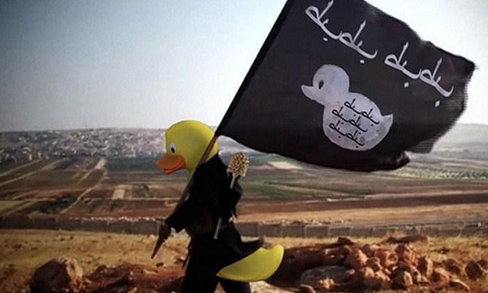 """Viralizan los """"patos"""" del Estado Islámico"""