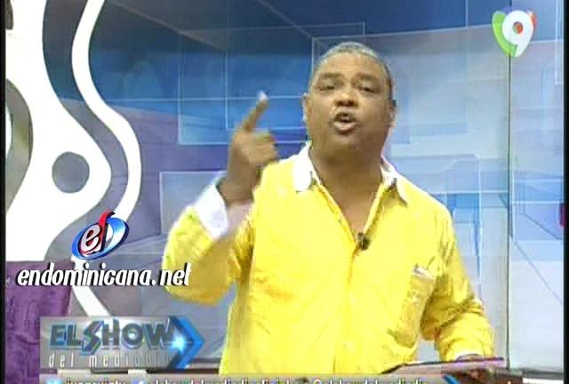 "Aridio acusa a presentadoras TV de ""hurto"""