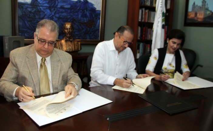 """Firman convenio para """"Alianza Estratégica por la cultura"""" de Santiago"""
