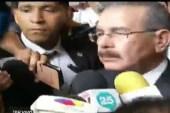 """Danilo clama a la sociedad """"acudir a Dios"""" para eliminar la violencia"""