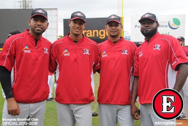 Escogido presenta  roster y equipo  que llevará a Serie del Caribe