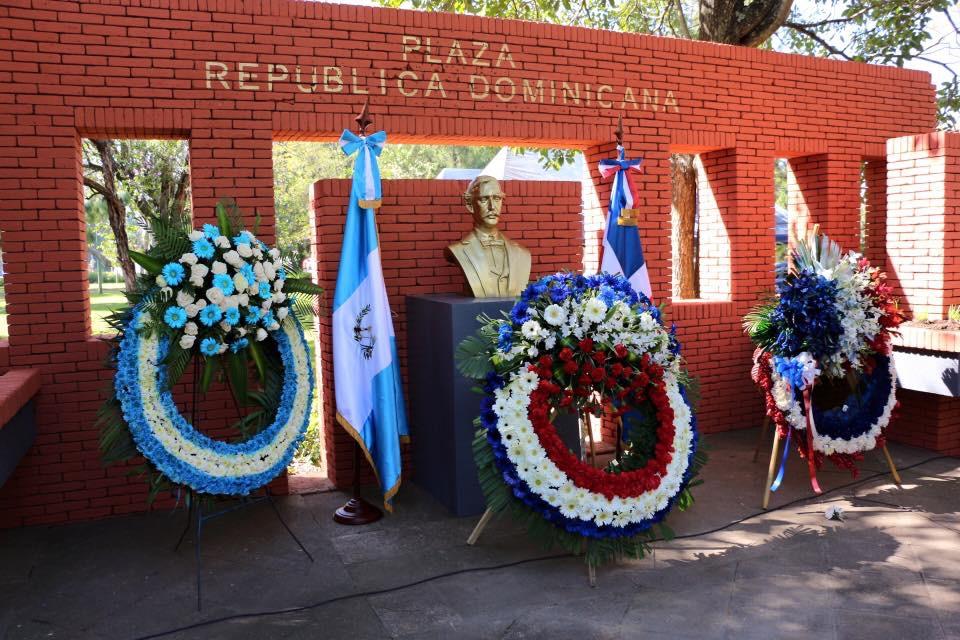 Dominicanos en Guatemala conmemoran natalicio de Duarte
