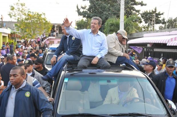 Leonel Fernández realizará caravana el próximo sábado