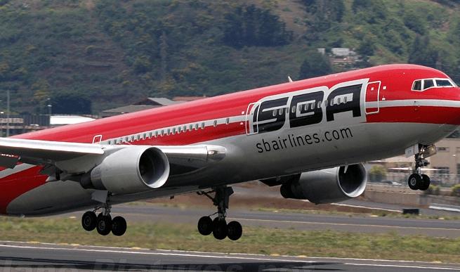 Aterriza de emergencia avión de pasajeros de Venezuela en el AILA