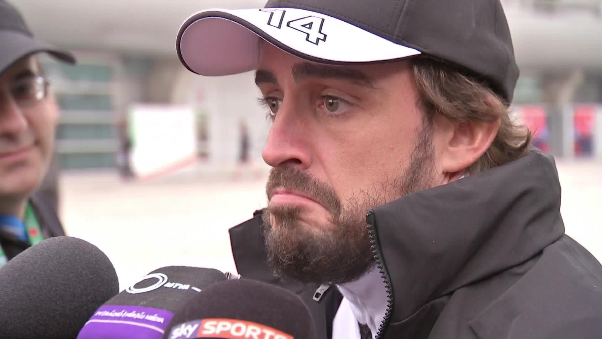 Fernando Alonso no podrá participar en el GP de Barein