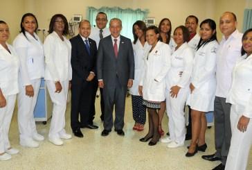 Inauguran unidad de cuidados intensivos en hospital Rodolfo de la Cruz Lora