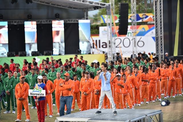 Ministerio de Educación inaugura los VII Juegos Escolares  Espaillat 2016