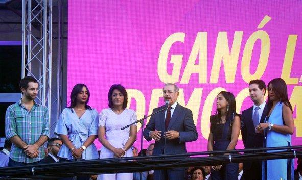 Danilo quiere unificarse con la oposición para trabajar por el país