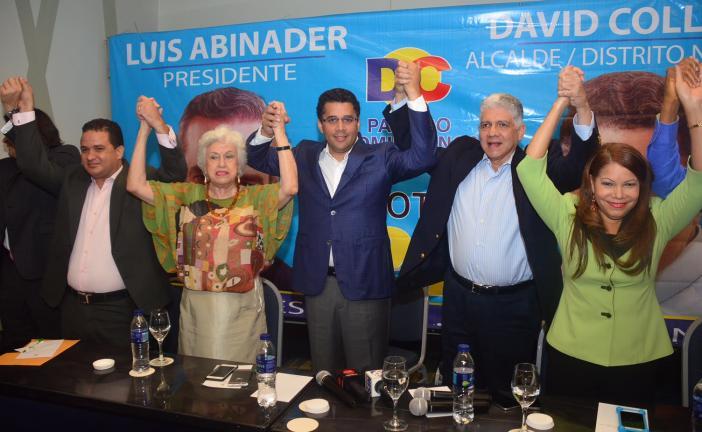 Eduardo Estrella y el Partido Dominicanos por el Cambio formalizan apoyo a David Collado