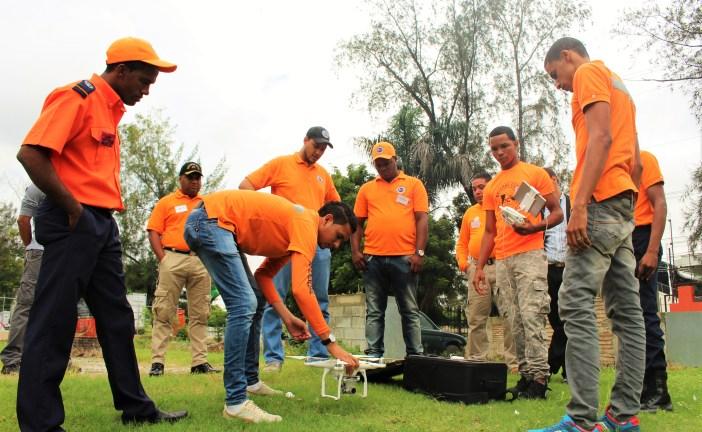 Imparten taller de generación de geoinformación con drones aplicado a emergencias y desastres