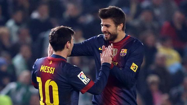 Piqué: El día que se vaya Messi será como el día que muere tu padre