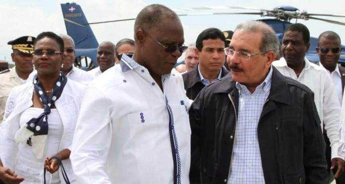 Danilo Medina está en Haití, fue a ofrecer ayuda