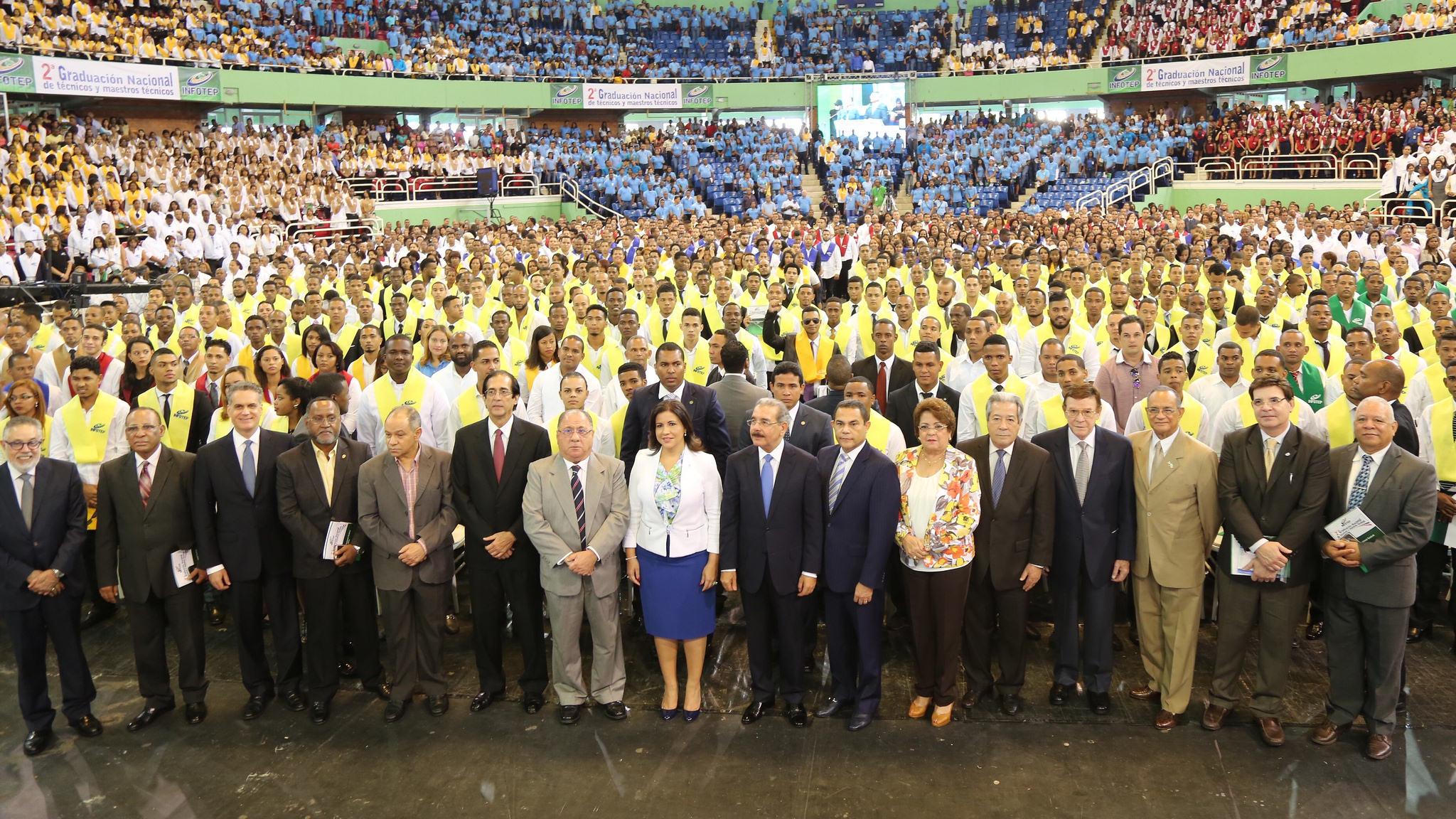 Infotep gradúa más de 10 mil técnicos