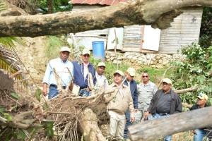 INVI evalúa viviendas afectadas por lluvias